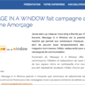 Message In A Window soutenu par Aquitaine-amorcage