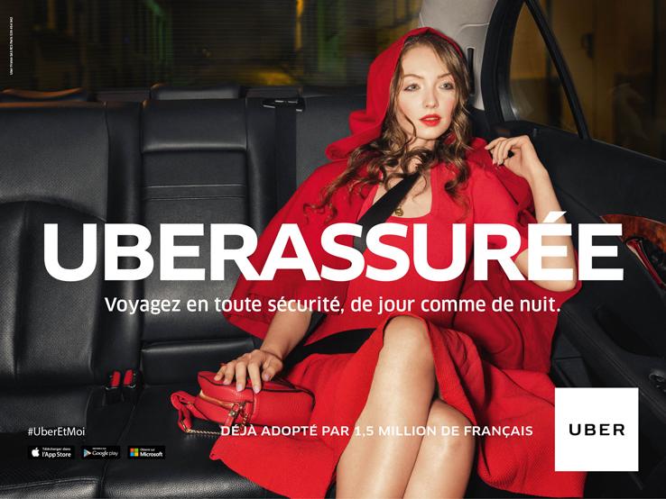 Uber Campagne France
