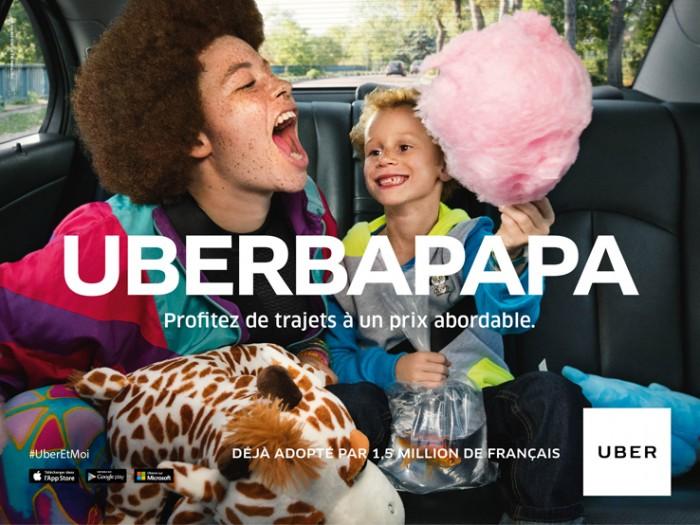 Uber Campagne France 2