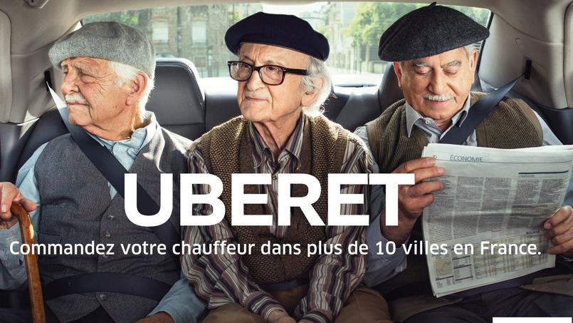 Campagne Uber France