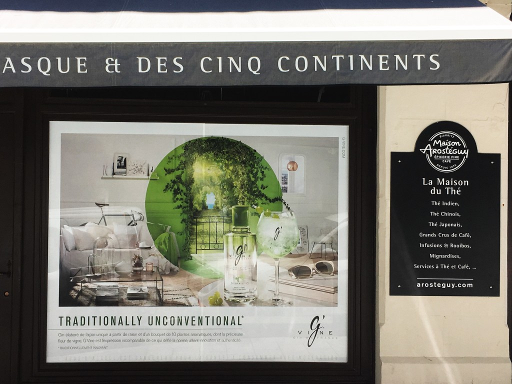 Campagne G'Vine chez Maison Arostéguy - Biarritz
