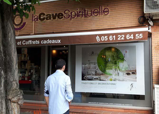 Campagne G'Vine chez La Cave Spirituelle