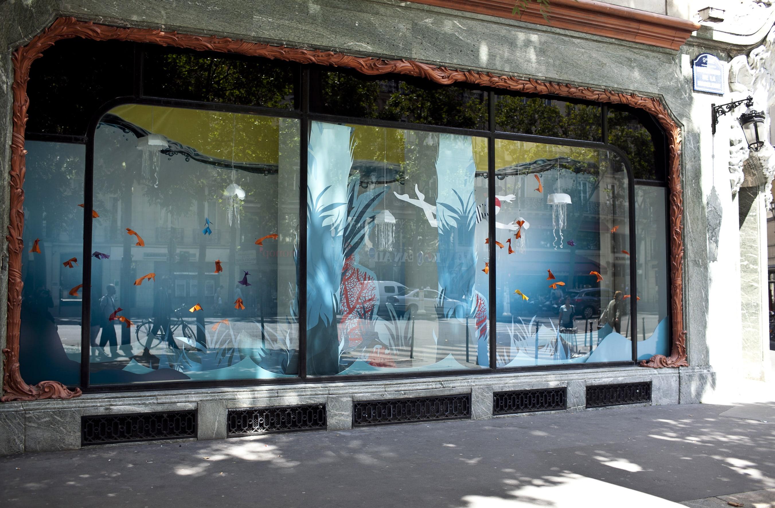 Vitrine Alliance Real Estate par Ma Petite Vitrine - Pinacothèque Paris