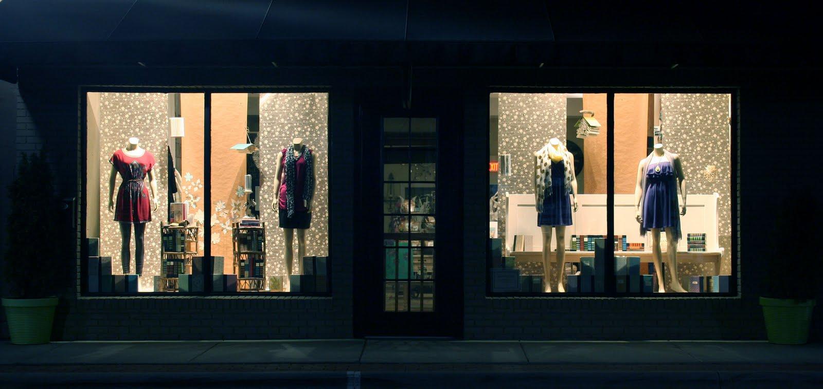 Merchandising du point de vente - Message In A Window