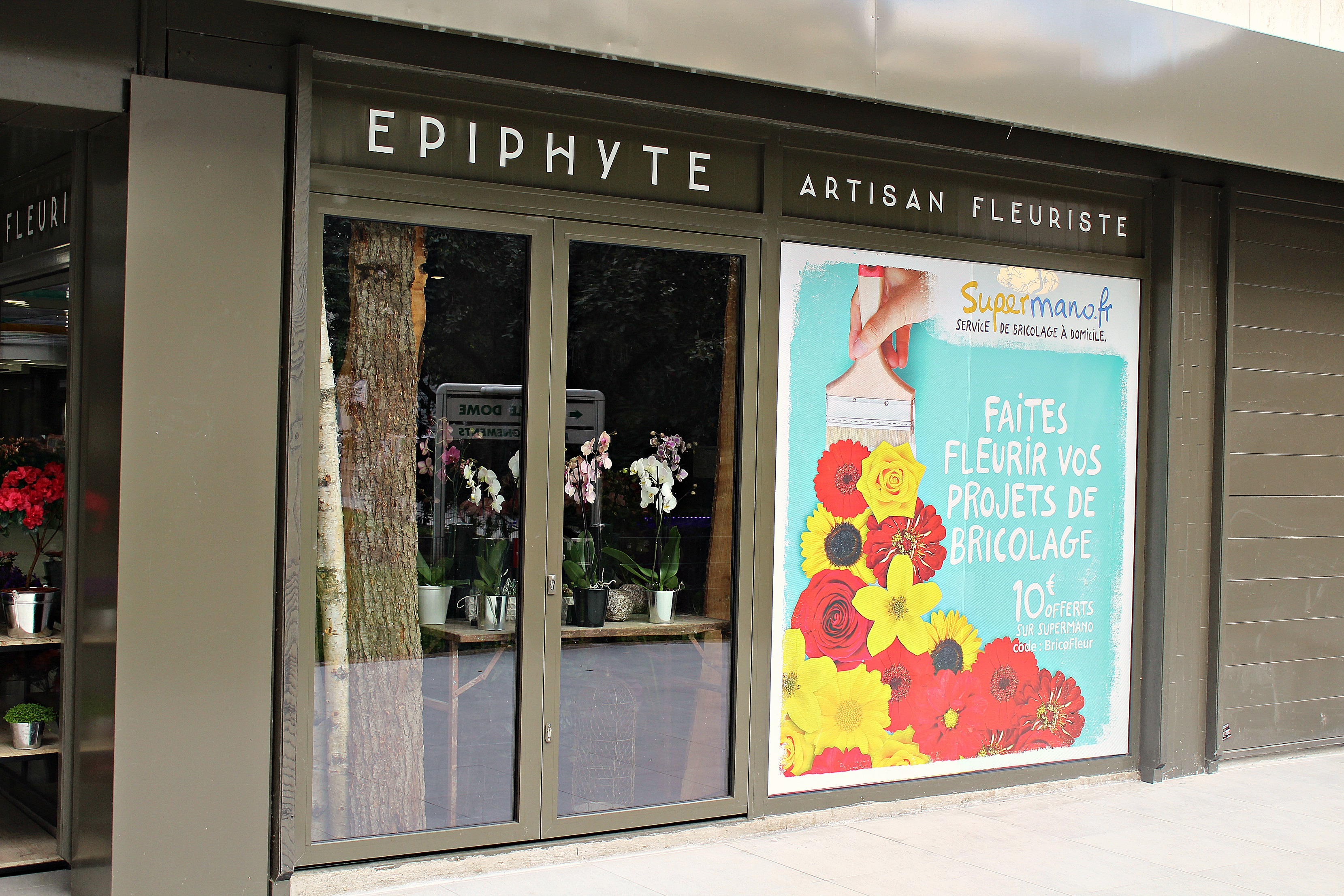 Campagne SuperMano chez Epiphyte - Message In A Window