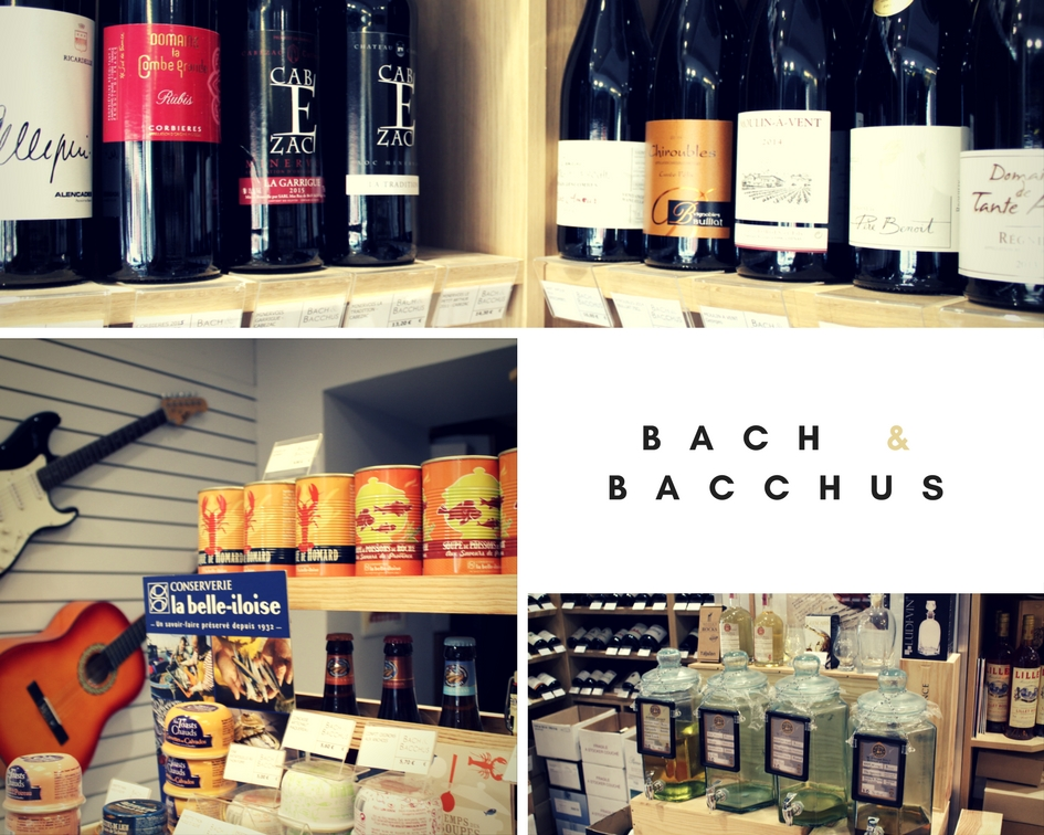 Bach & Bacchus - Paris - Message In A Window