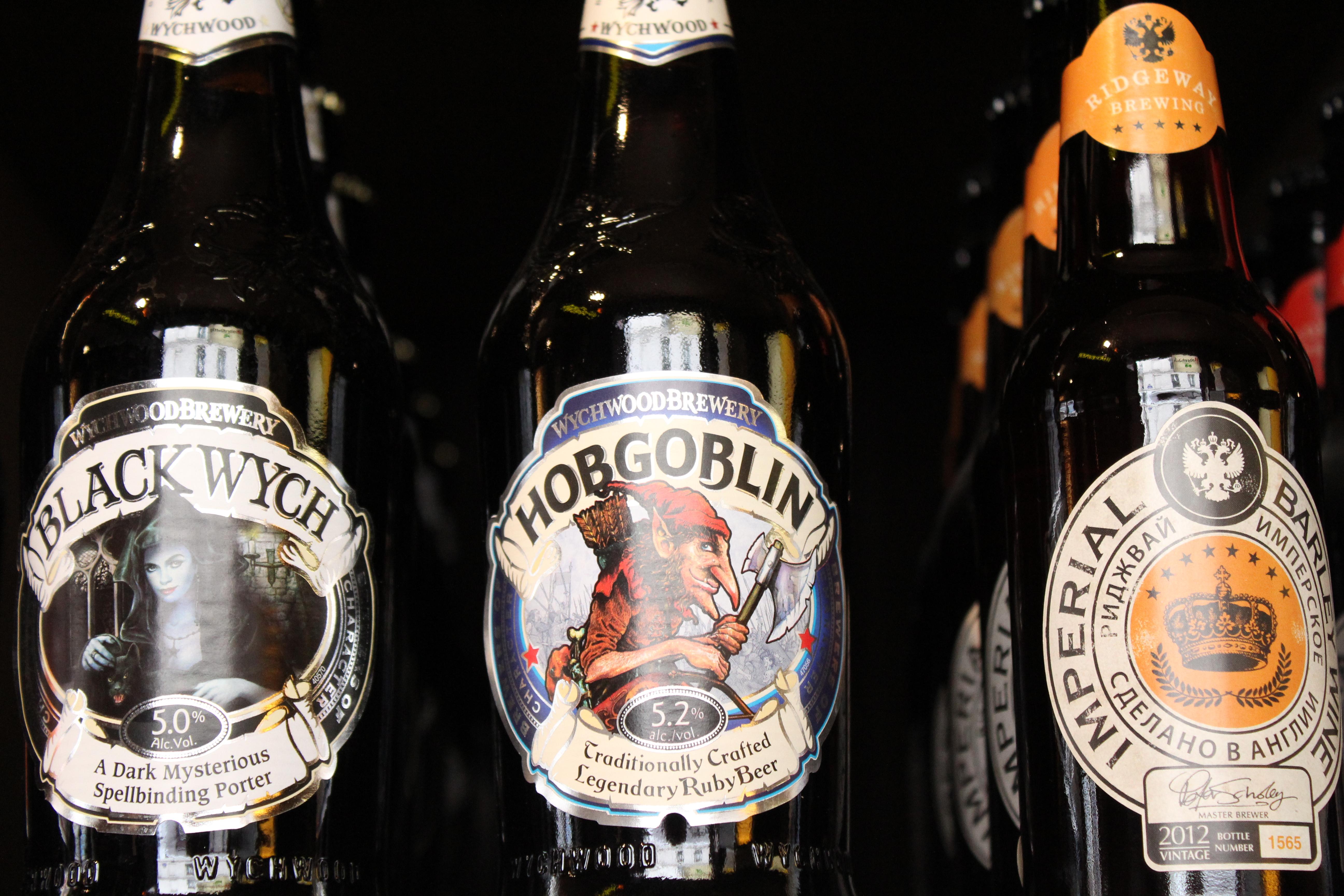 Sélection de bières - Bootlegger - Paris - Message In A Window
