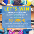 Jeu concours Start-up - Message In A Window