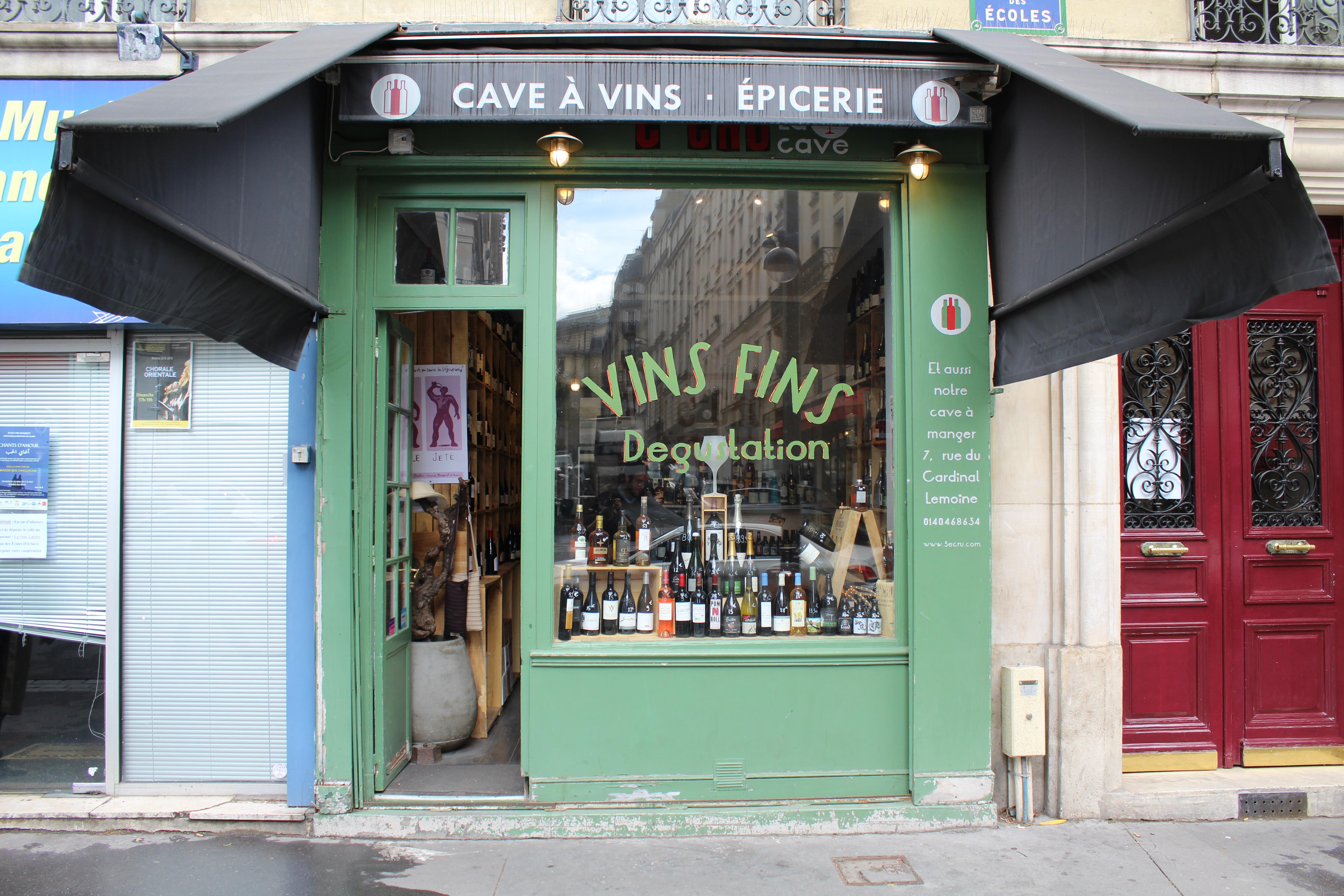 5ème Cru - Paris V - Message In A Window