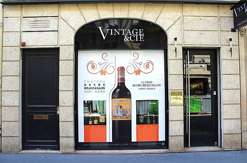 Campagne Ducru-Beaucaillou - Vintage & Cie - Paris