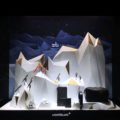 """Vitrine Montblanc """"Happy Holidays"""" by Studio JM Gady"""