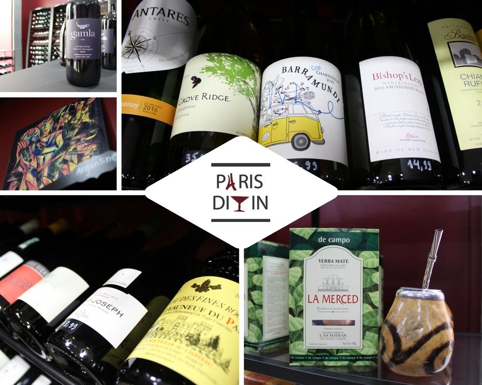 Paris Divin - Cave à vins et épicerie fine