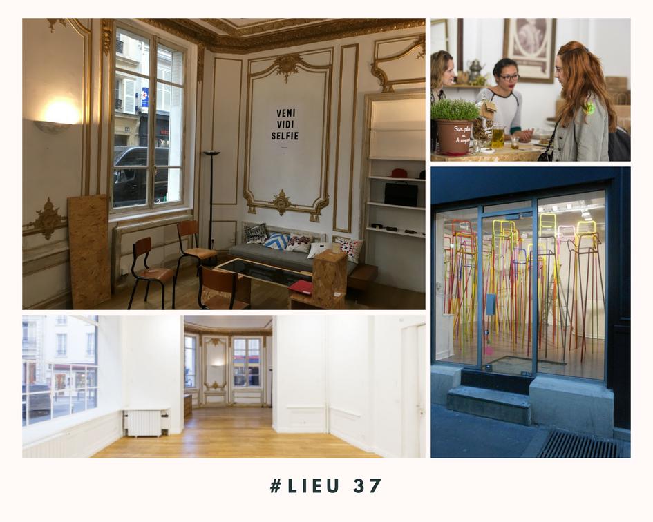 Lieu 37 - Pop up store - Paris