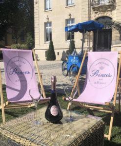 champagne rosé Princes de Venoge